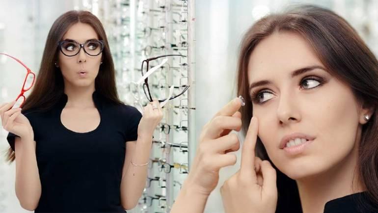 Insight Into Glasses vs Contacts